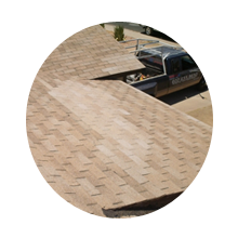 Picture of a recent shingle roofing project in Glendale by the Arizona Roof Rescue team