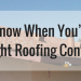 How To Know When You've Hired The Right Roofing Contractor